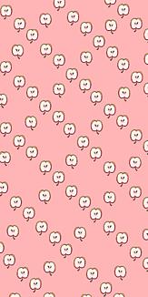 よく見るとリンゴ ピンク