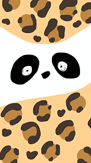 パンダ×ヒョウ