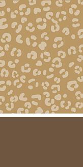 ヒョウ柄 brown/beige