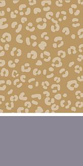ヒョウ柄 gray/beige