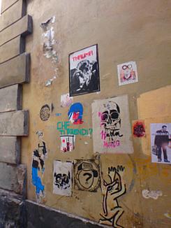 なかべの気まぐれINフィレンツェの街中