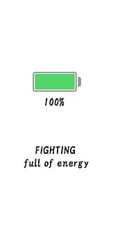 かわいい 電池マーク 電池残量 おしゃれ