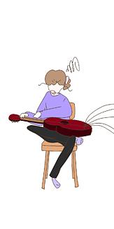 おんなのこ ギター
