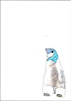 ワンコ王国の友好国であるペンギンランドの子ペンギン2です