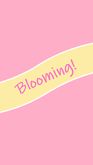 Blooming!【ピンク】