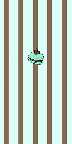 チョコミントマカロン