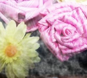 お花のコサージュ~ほわほわ~