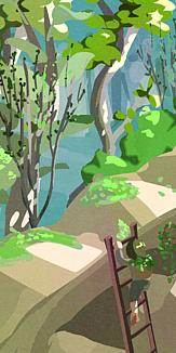 観葉植物の森