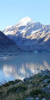 NewZealandの氷河湖