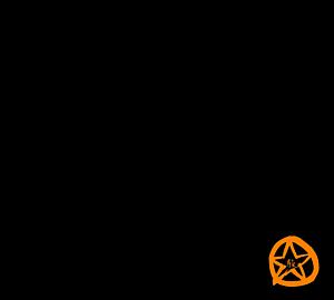 駿河プライド公式【黒×オレンジ】